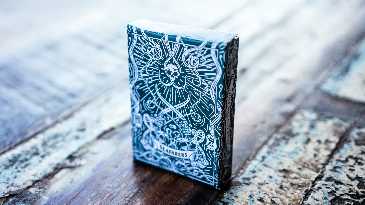 Premium, luxurious and classic nautical playing cards. Designed from the ground up!