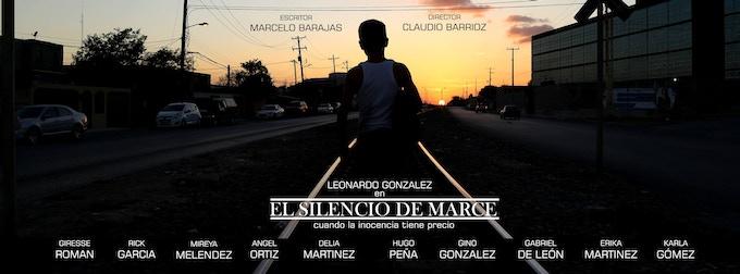 Cover of the movie El Silencio de Marce. Portada de la película El Silencio de Marce.
