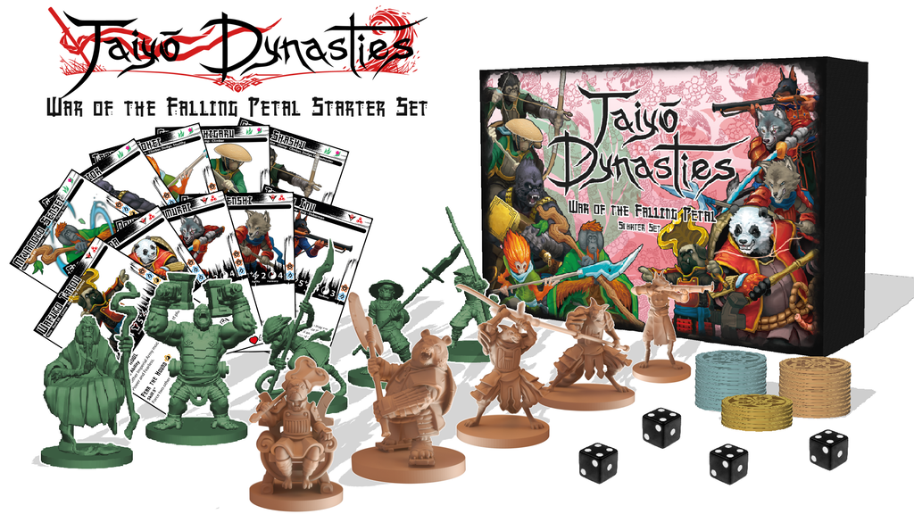 Taiyo Dynasties Samurai Miniatures Game by Ulfsark Games — Kickstarter