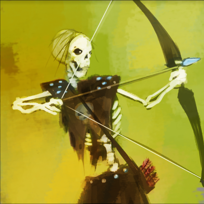 Skeleton Archer 2 - each figure is different
