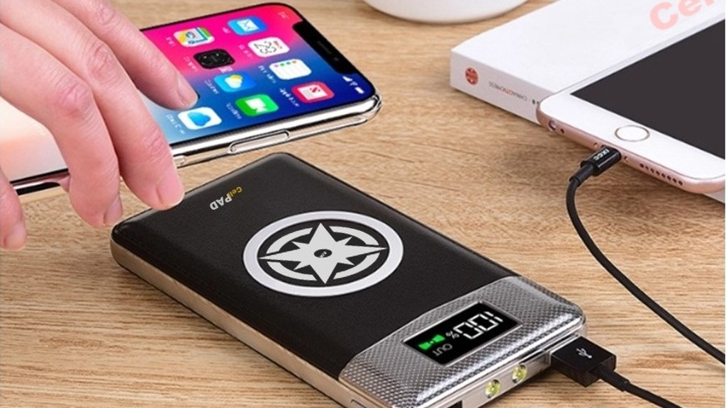 CellPAD-World Most Portable Qi Wireless Charger on the go.