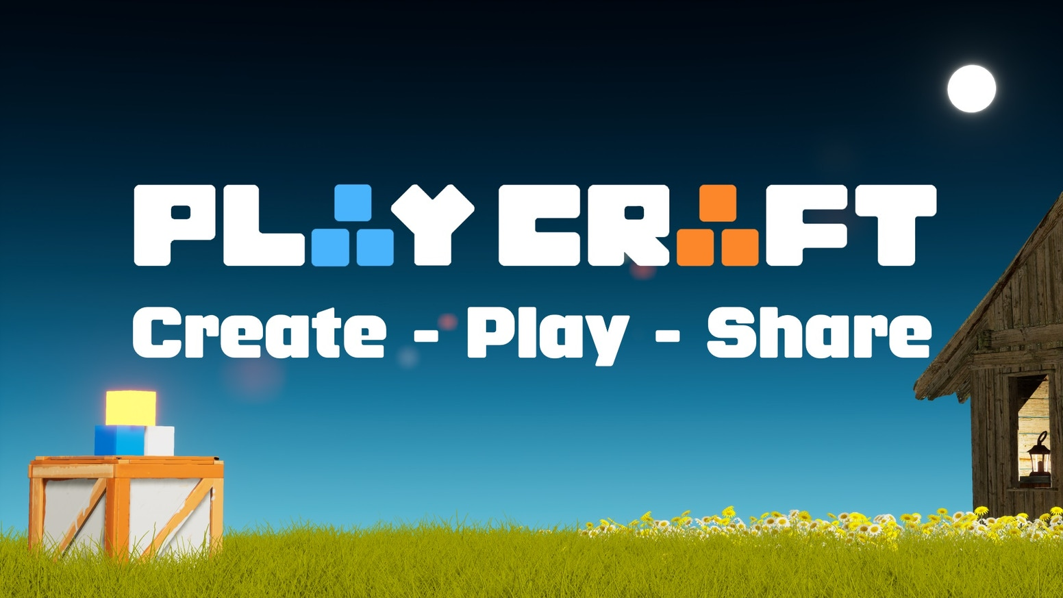 Create games without coding in this fun multiplayer sandbox!