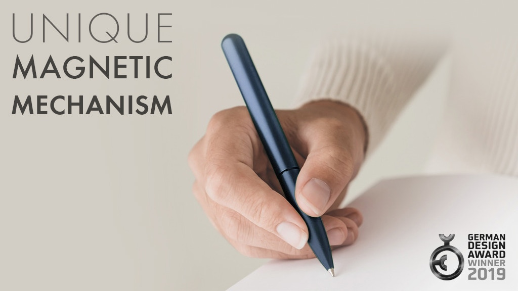 Award-Winning Magnetic Pen meets the World's Best Refill project video thumbnail