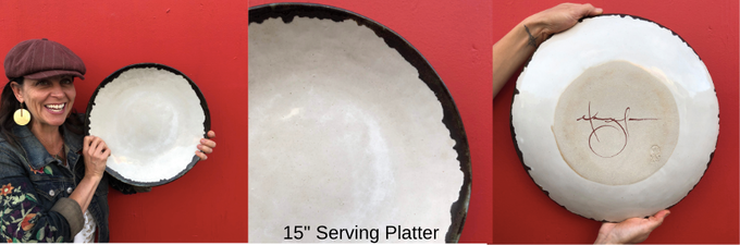 ***Previous backers can add $200 to their pledge and receive this platter + previous pledge reward!!***