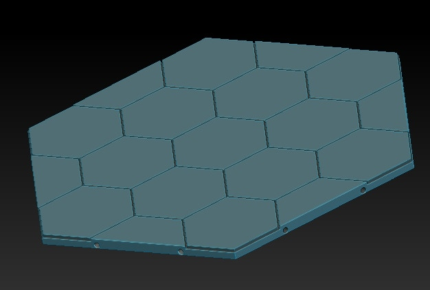 Updated Hextile, supportless base!