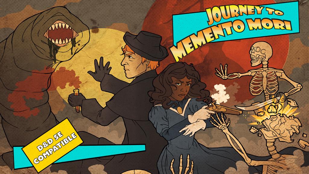 Project image for Memento Mori : D&D 5E Victorian Gothic Campaign Setting