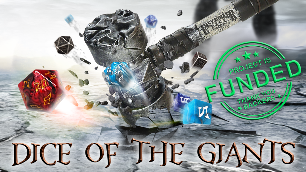 Dice of The Giants: Epic 48mm Dice project video thumbnail
