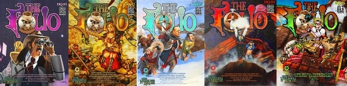 All 5 never before in print Folio: Digital Quarterlies!