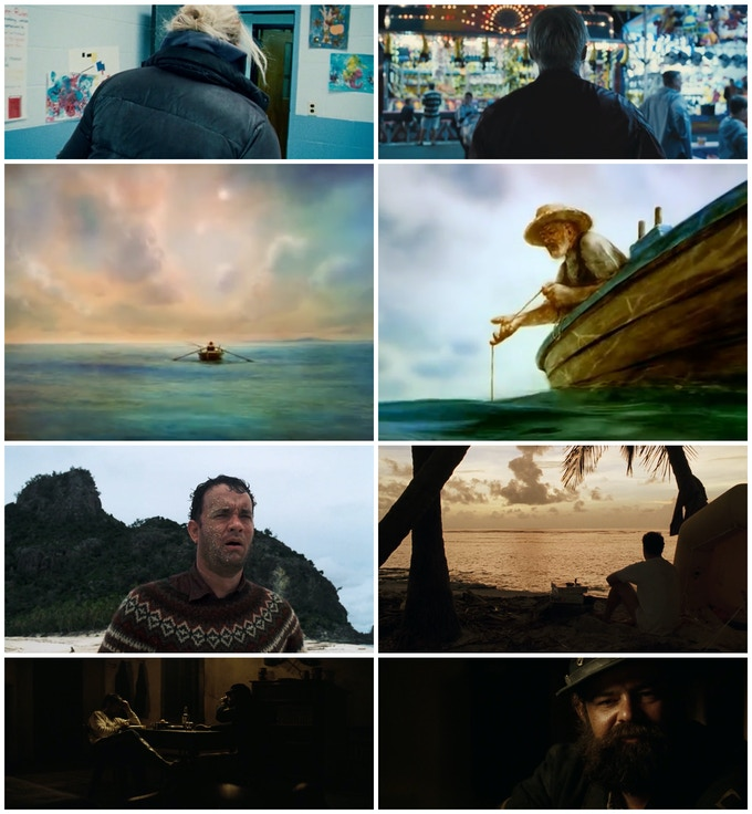THE WRESTLER - THE PLACE BEYOND THE PINES - THE OLD MAN AND THE SEA (animated short) - CAST AWAY - HOSTILES