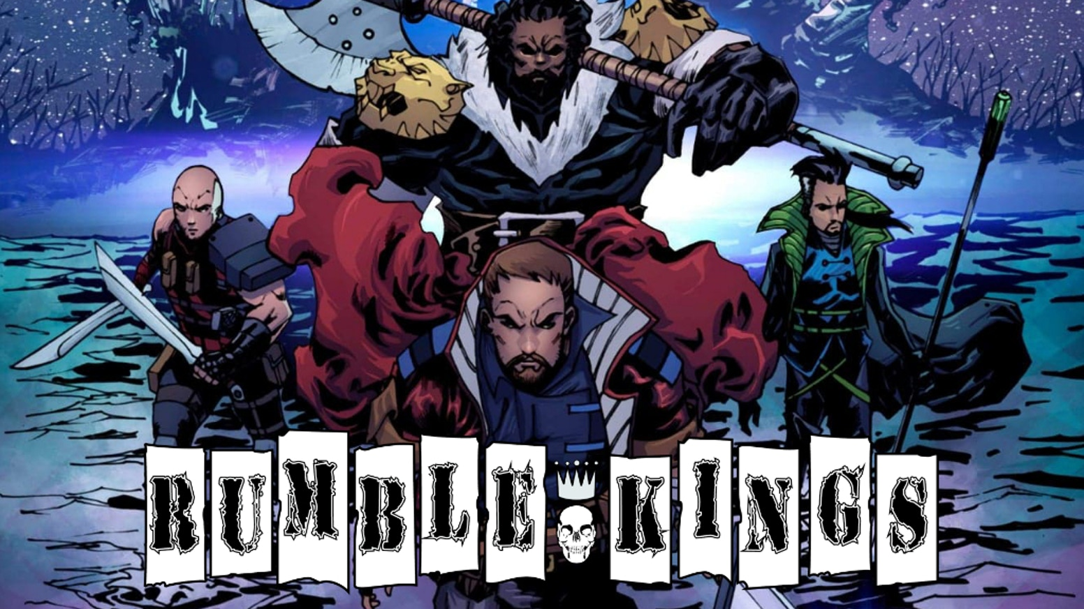 Issue #2 of the Rumble Kings comic series.