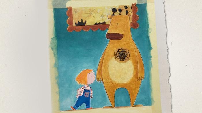 Un libro illustrato che vede protagonista l'orso Artoo, la sua amica Margherita e l'Angelo Richiedente di Paul Klee.