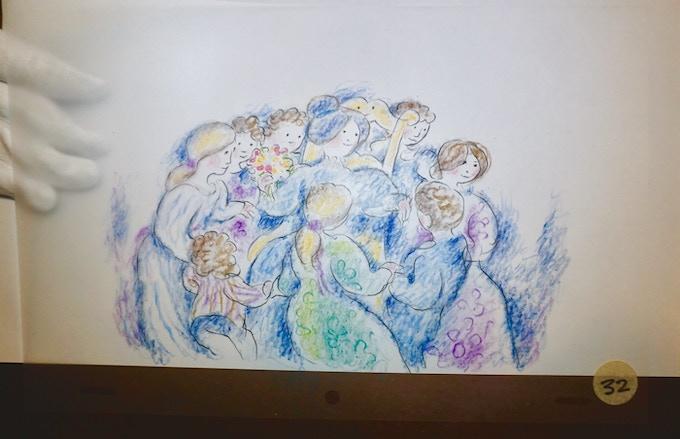 celluloïd du / celluloid from CRAC!- crayons primacolor et pastel sur acétate dépoli