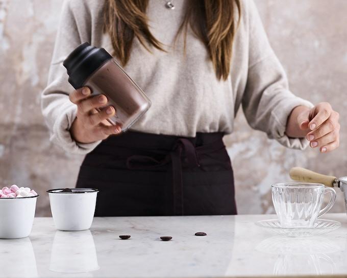 World's First Hot Chocolate Shaker