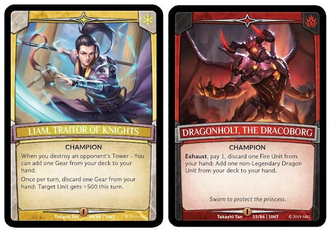 Champion Cards