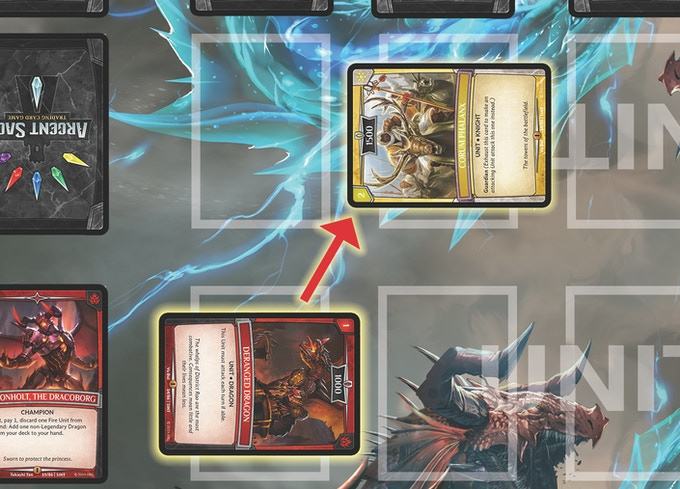 Exhaust a Unit with the Guardian Keyword to Block