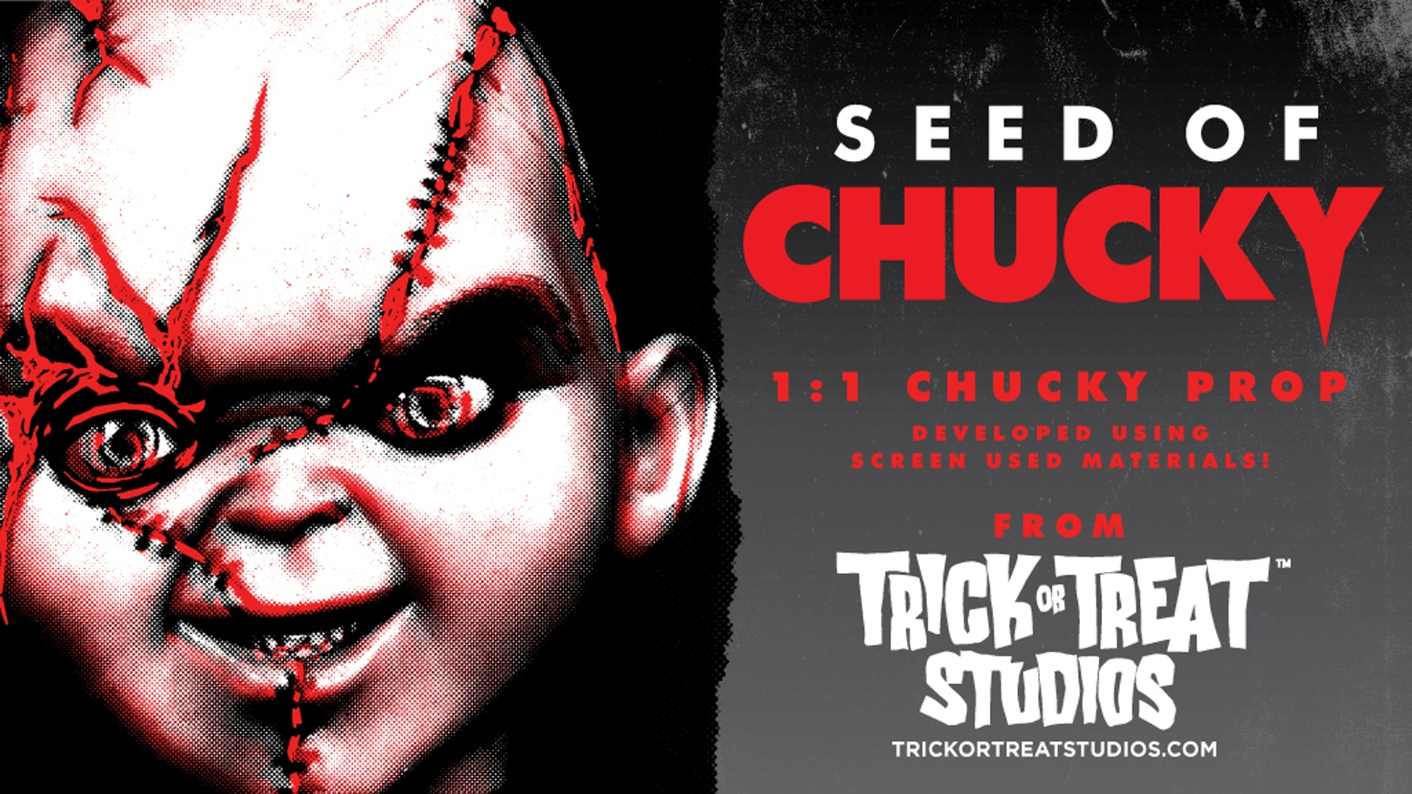 1:1 scale Seed of Chucky - Chucky Doll Developed by Tony Gardner