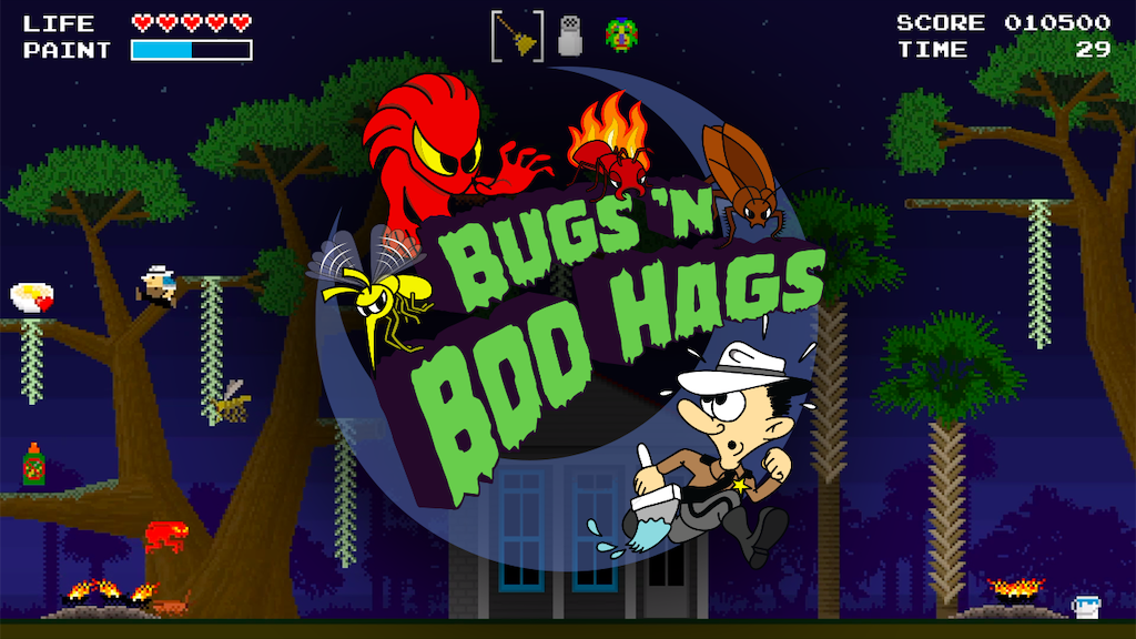 Bugs 'N Boo Hags - A Game Based on South Carolina Folklore project video thumbnail