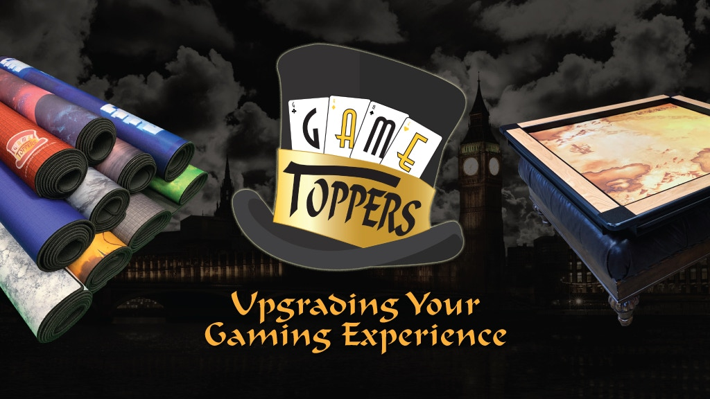 Game Toppers 2.0 - The Ultimate Gaming Accessory project video thumbnail