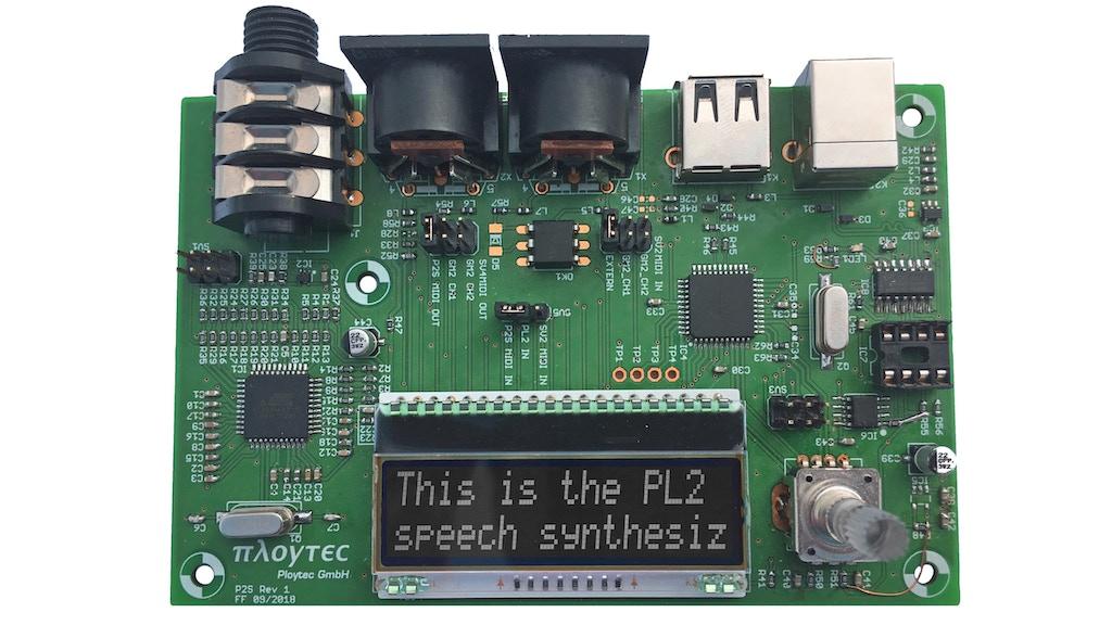 Ploytec PL2 Logos Prototype Board project video thumbnail