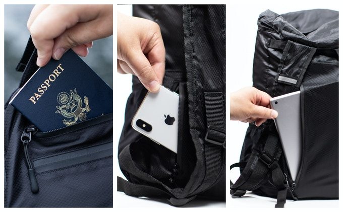 Keep your gear secure where you know it can't be accessed by anyone but you.