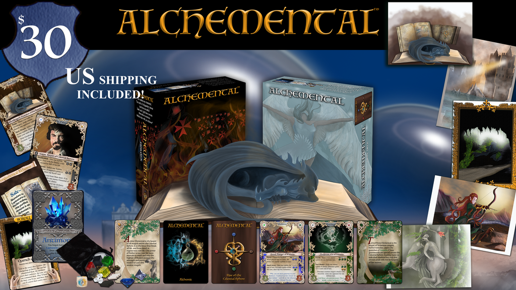 Alchemental: Rise of the Celestial Sphere project video thumbnail