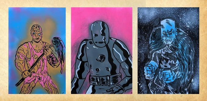 A4 Spray Paint Commissions