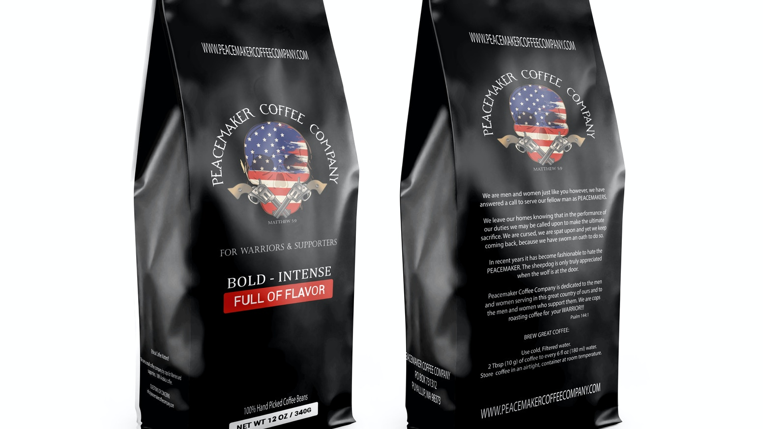 Peacemaker Coffee Company - Police Officer Owned & Operated