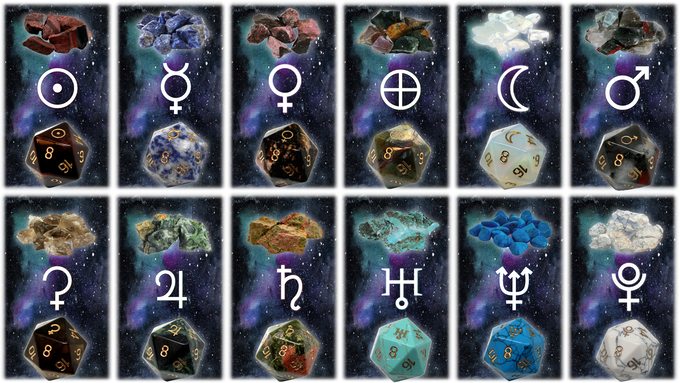 If all planets are unlocked backers may substitute the Complete Zodiac Set for the Complete Planet Set.
