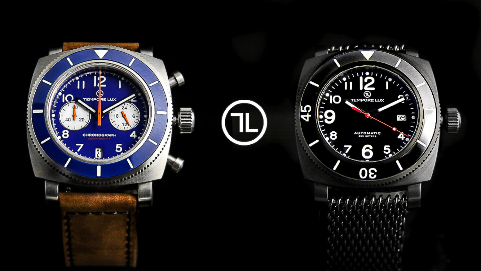 Inspired by the vintage diver watches, Tempore Lux watches are also delightfully modern, elegant and of exceptional quality. Now available in our new ecommerce. Click on the red button.