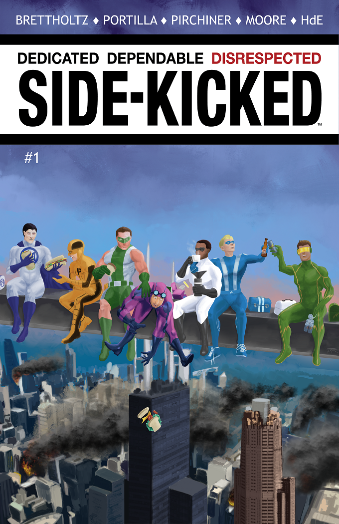 Side-Kicked Volume 2: Issue #1 (Chapter 5) Cover 1A - by Dustin Collins (Standard Cover)