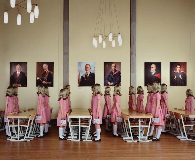 Dining Hall Standing, 2007 © Julia Fullerton-Batten