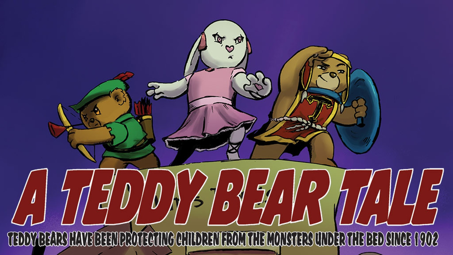 Our ragtag band of heroic cuddly toys must stop the monsters under the bed from kidnapping their child
