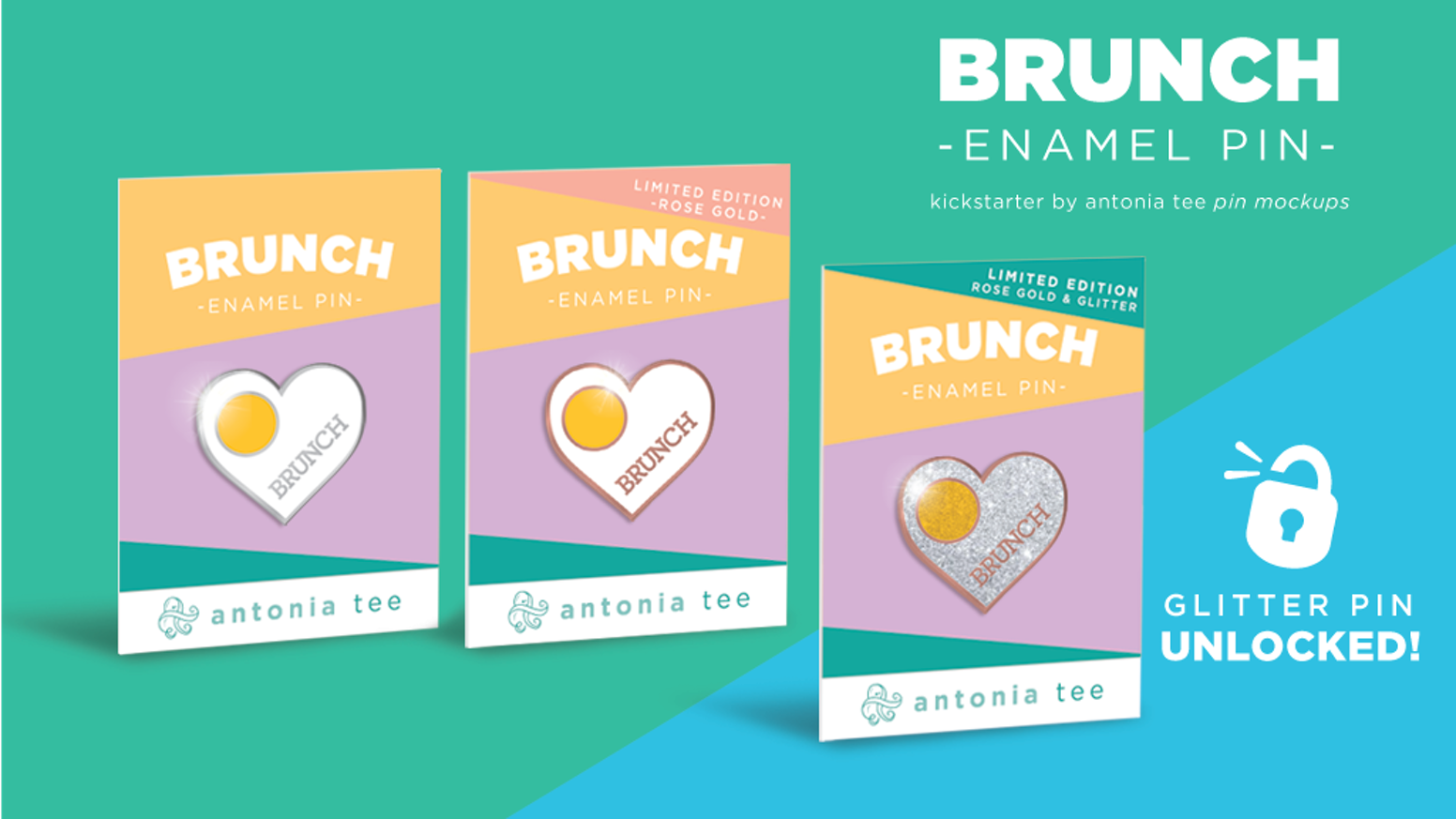 Brunch Enamel Pin by Antonia Taggart — Kickstarter