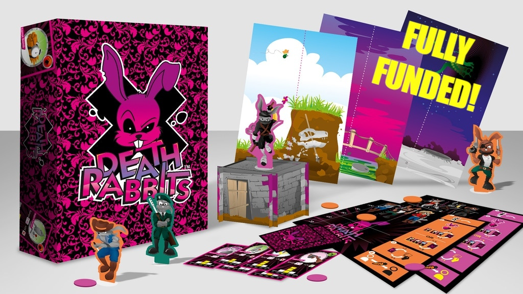 Death Rabbits Board Game project video thumbnail