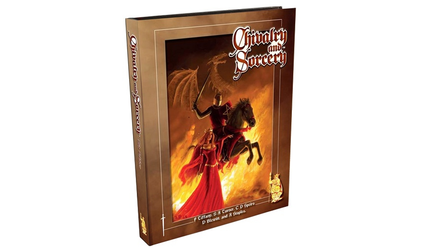 Chivalry & Sorcery - the Medieval Role Playing Game by Steve