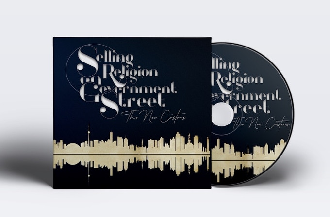 "Signed ""Selling Religion on Government Street"" CD"