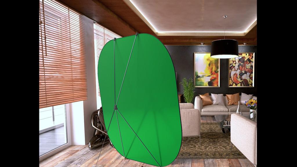 Greenscreen Apple app for the NeatScreen studio! by Christina Aon