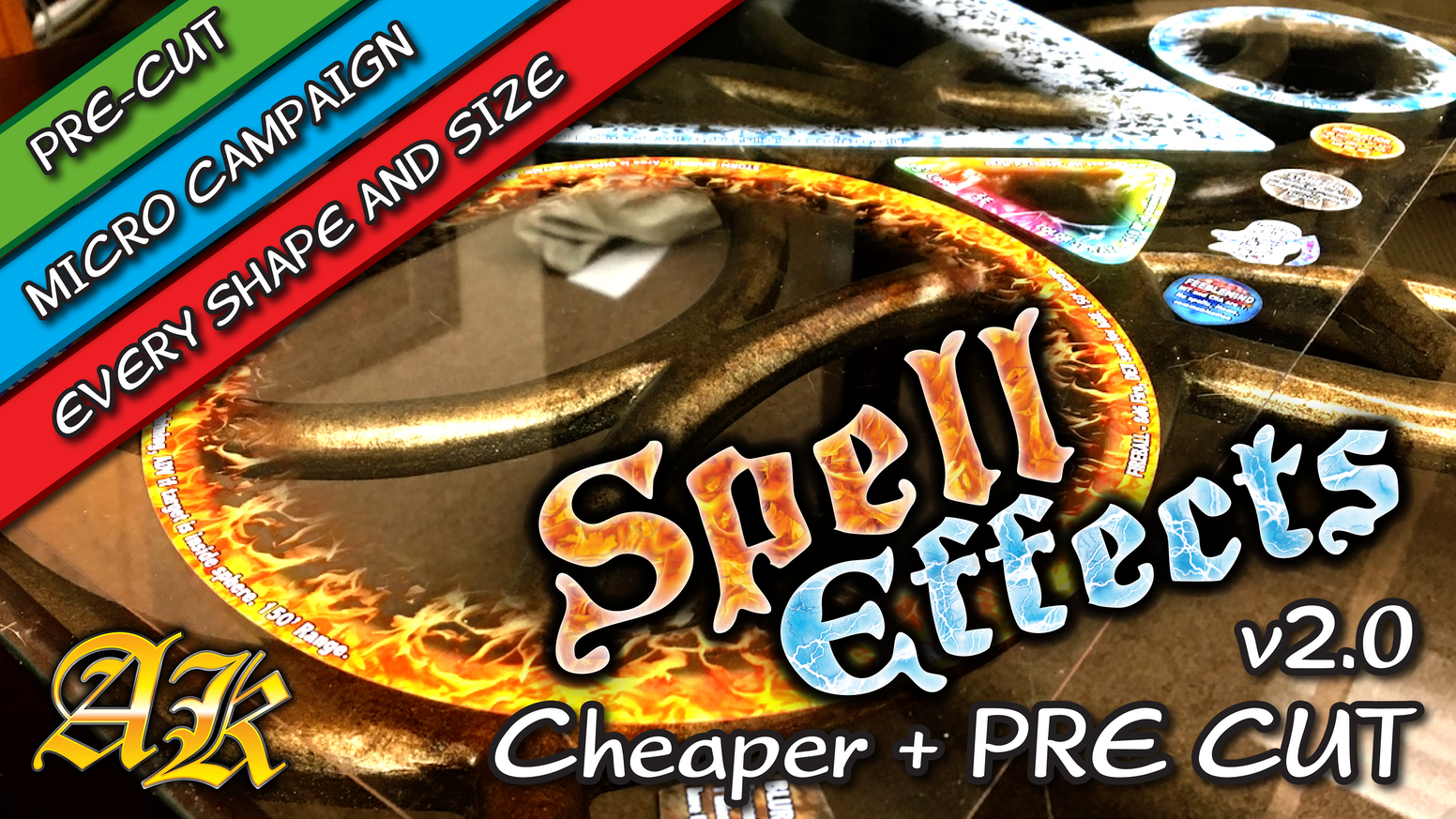 Revamping the best RPG Spell Effects to make them even better. Everything you asked for: Cheaper and Pre-Cut.