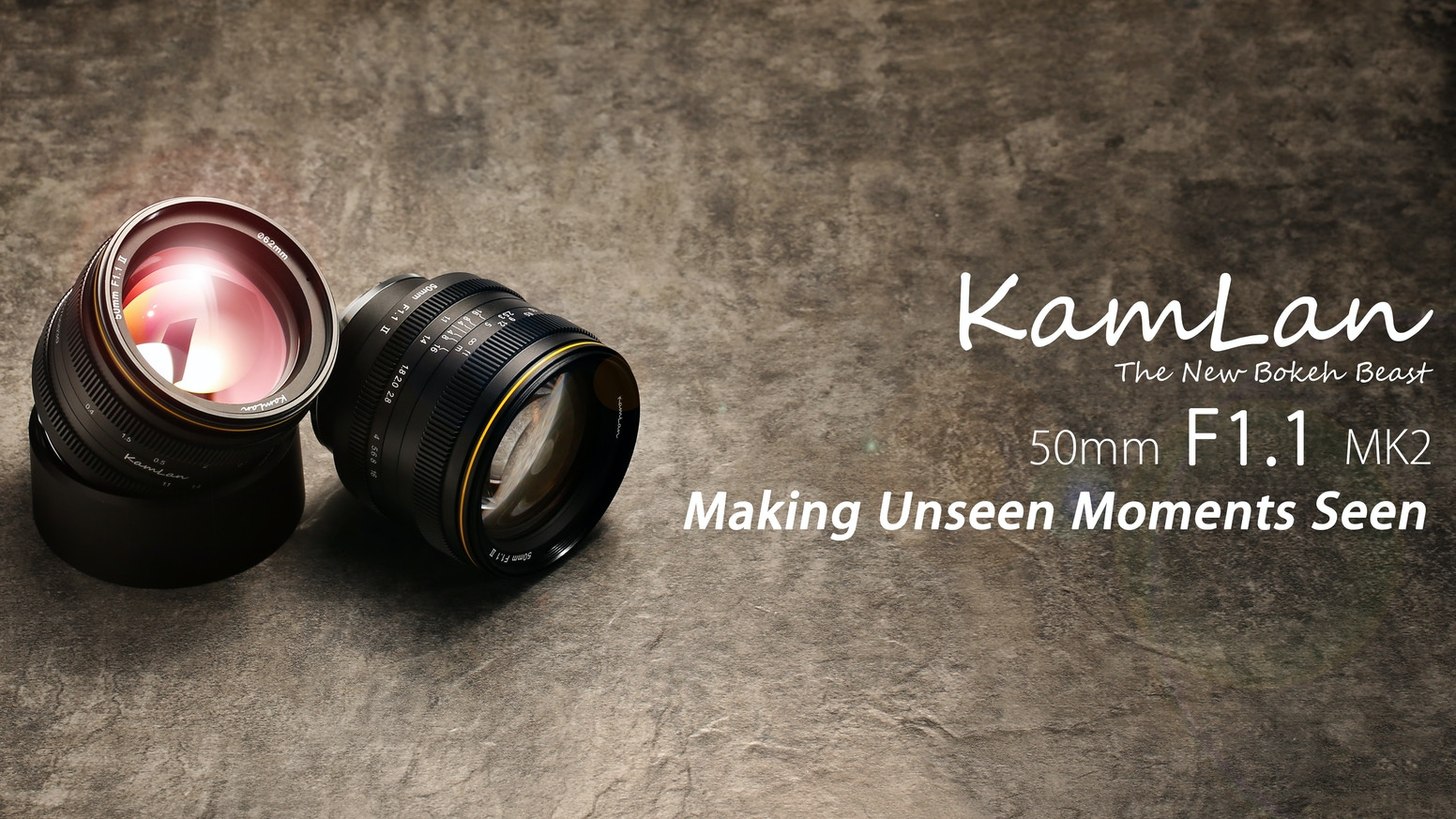 The new Bokeh Beast - Making unseen moments seen with Kamlan 50mm F1.1 MK2