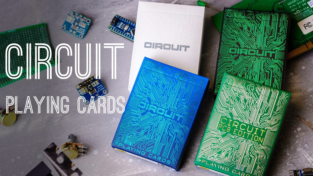 Circuit Playing Cards project video thumbnail