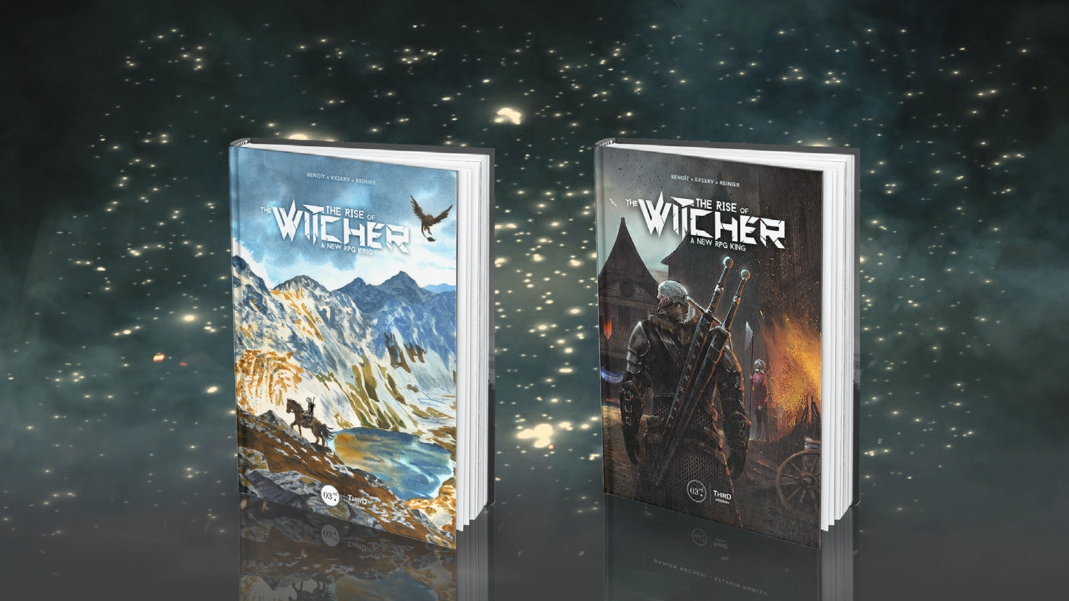 After three successful KS campaigns, we are back for a fourth ride and a new book dedicated to The Witcher saga.