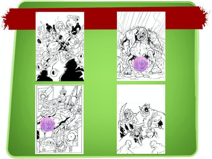 Original Artwork Options (Censored!)