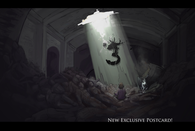 """New Postcard! """"The Tunnel"""""""