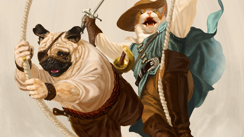 Pirates of Pugmire - A Realms of Pugmire Tabletop RPG project video thumbnail