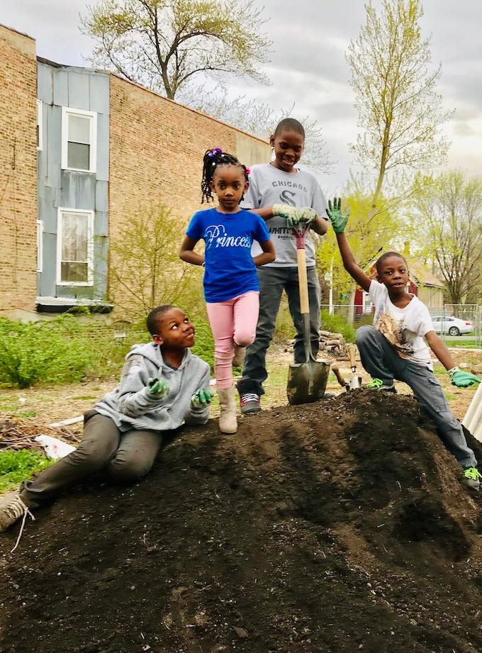 the garden crew!