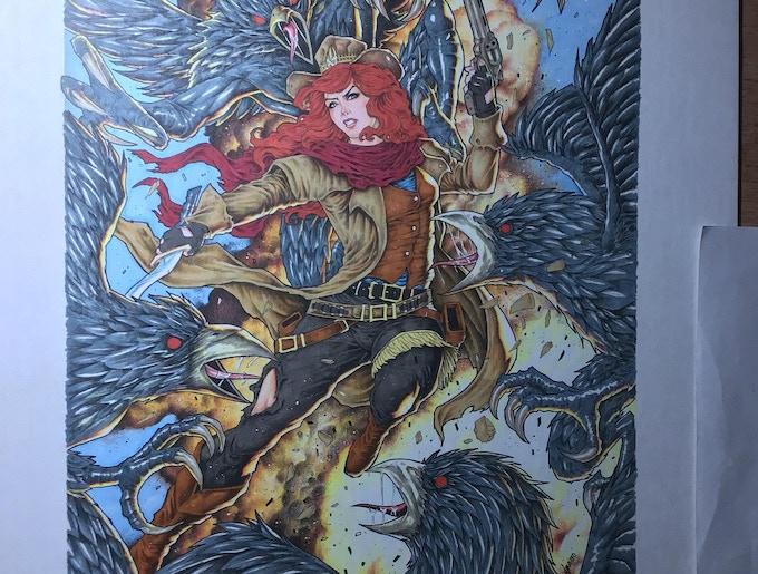 Original art by Norvien Basio