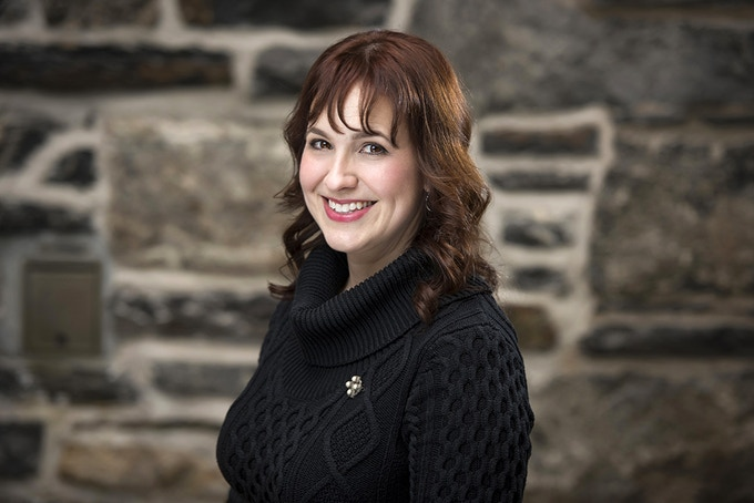 Bradan Press president and editor Dr. Emily McEwan (photo credit: Rebecca Clarke)