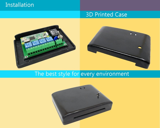 We have developed a 3D printed case for zero model completly free for you to ensure the best protection and great style in different environments.  Download files and print your case in a few minutes.