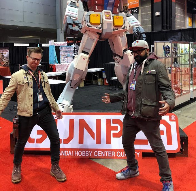 Andrew and I at C2E2. Yeah, we cool like that.