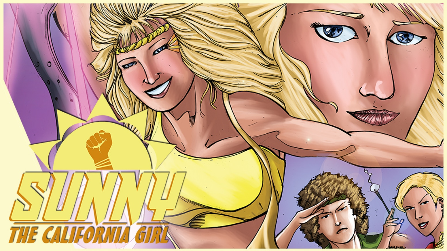 Sunny the California Girl: a GLOW Wrestling Story from the 1980's